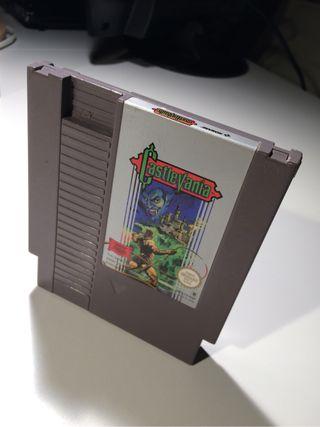 Juego Castlevania Nintendo Nes