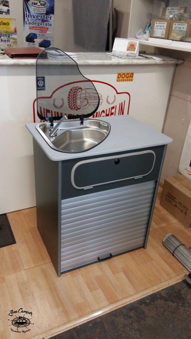Mueble fregadero cocina camper de segunda mano por 500 € en ...