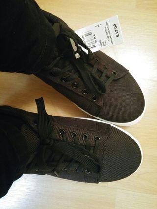 Zapatillas creepers negras NUEVAS 38