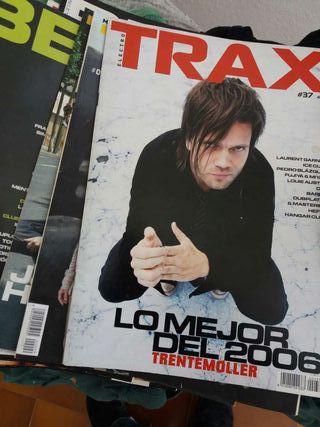 Revistas Traxx y beats magazine