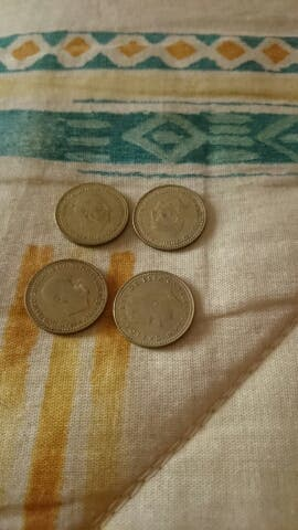moneda de pesetas