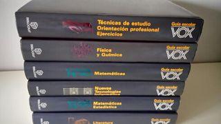 LIBROS de estudio ( VOX.)