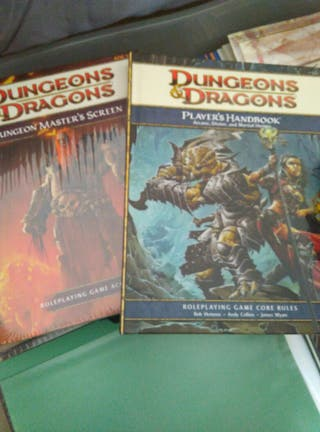 dungeons dragons rol