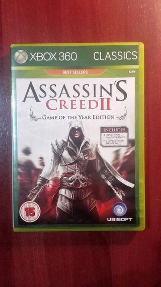 Assassin's Creed 2 Juego xbox 360