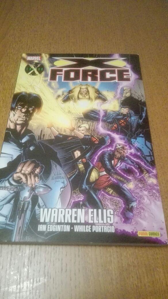 tomo x-force warren ellis panini comics