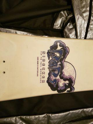 Tabla snowboard Nidecker con funda