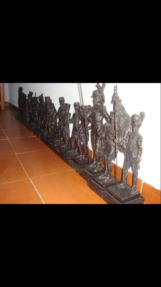 Figura decorativa conjunto figuras guardia civil