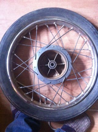 Rueda Bultaco Mercurio 155