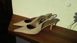 Zapatos piel zara talla 40