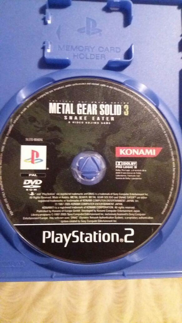 Juego Metal Gear Solid 3