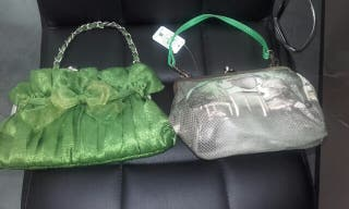 Dos bolsos preciosos