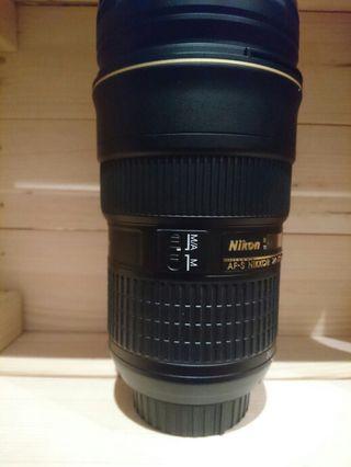 Objetivo nikon 24-70mm f: 2,8 G