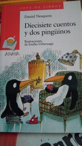 Diecisiete cuentos y dos pinguinos