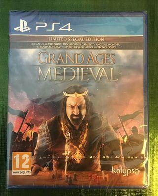 Grand Ages: Medieval PS4 PRECINTADO!!!