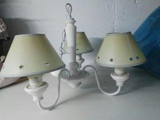 Lote de lámparas infantiles
