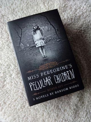 Miss Peregrine's home (trilogía en inglés)
