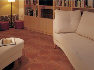 Pavimento Ceramico Hexagonal