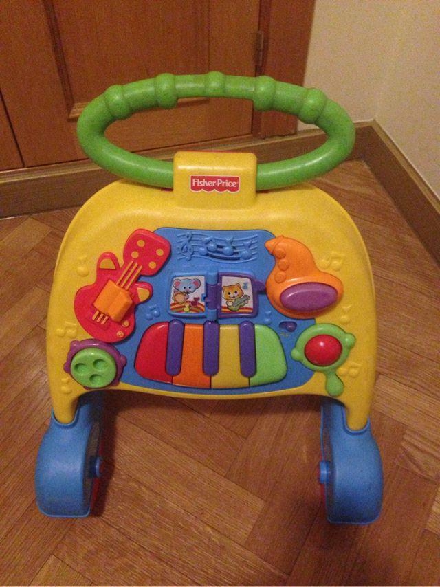 Andador musical bebes