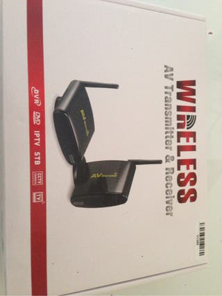 Wireless video y audio