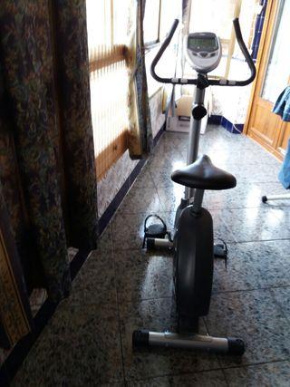 una bici estatica