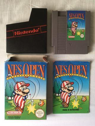 Nes open tournament golf Nintendo nes