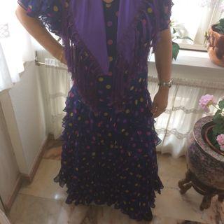 traje de flamenca de gasa
