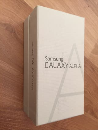 Caja Samsung Galaxy Alpha