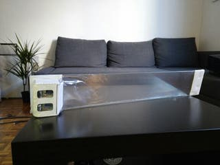 balda estanteria baño cristal IKEA