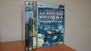 La Segunda Guerra mundial 3 juegos pc