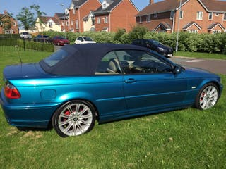 2002 Bmw Convertible 1.8