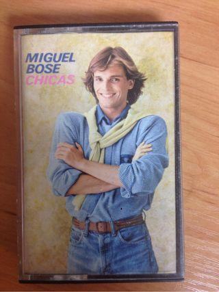Cinta casette Miguel Bosé.