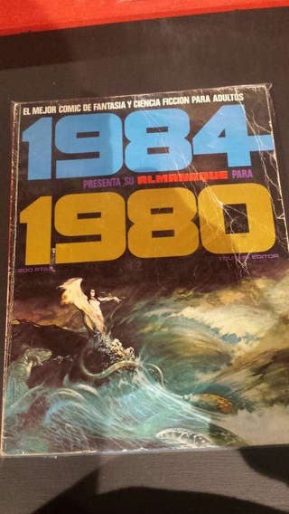 Cómic 1984 almanaque 1980