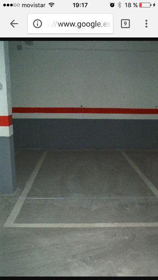 Azuqueca, alquilo plaza de garaje