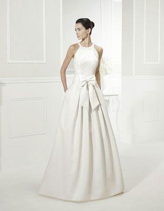 vestido de novia talla 36 de segunda mano en albacete en wallapop