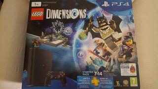 PLAYSTATION 4 SLIM 1TB + LEGO DIMENSIONS