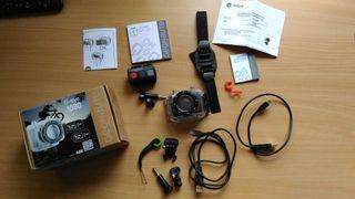 Cámara tipo GoPro: 1080 HD