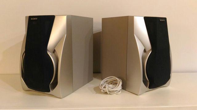 Altavoces madera Sony - 125W (cada uno)
