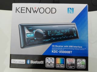 Radio Cd Autorradio Kenwood kdc-x5000bt