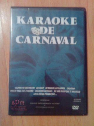 CD y dvd Karaoke de Carnaval de Cádiz