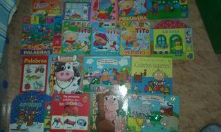 Lote cuentos niños 2-5 años tapa dura