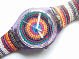 Reloj Swatch crochet mujer