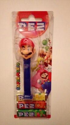 dispensador New Super Mario Bros switch wii Pez