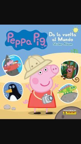 Cromos Peppa Pig 2017