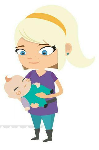 Cuidadora de niños, niñera