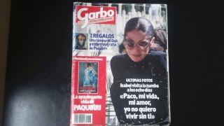 antigua Revista garbo