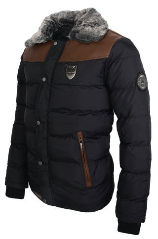 Chaqueta Acolchada Hombre GEOGRAPHICAL NORWAY, Colores Disponibles: Negro y Azul Marino, Tallas Disponibles: L.