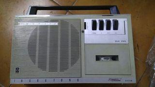 Ingrafono,radiocasete,grabadora casete,casete.