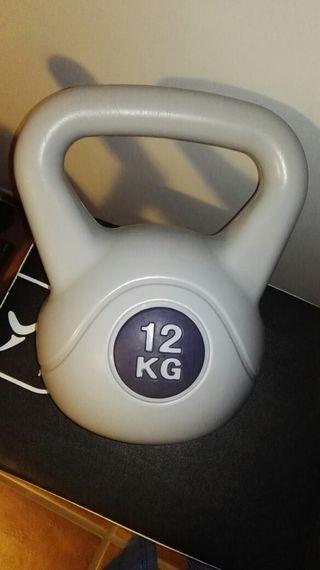pesa rusa kettlebel 12 kg