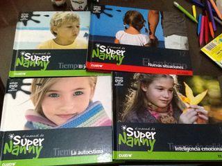 Colección DVD-Libro SUPERNANY
