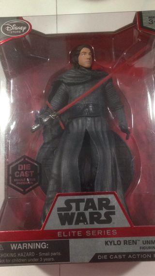 Figura de Kiron Ren star wars metalica.nueva.